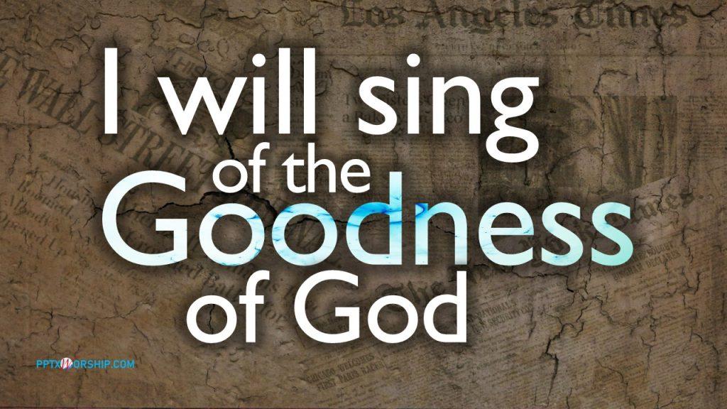 Goodness of God Bethel Chords PPTXWorship.com PowerPoint Template presentation PDF Free download Lyrics Worship songs
