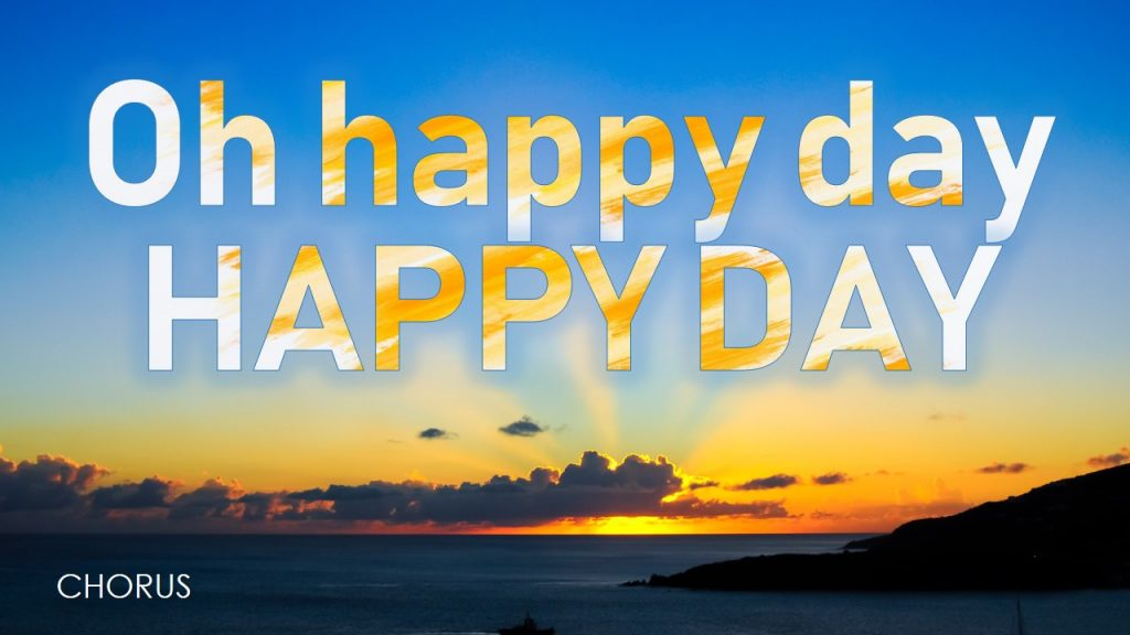 Happy Day Tim Hughes Video Free Download PowerPoint Template presentation PPTX Worship