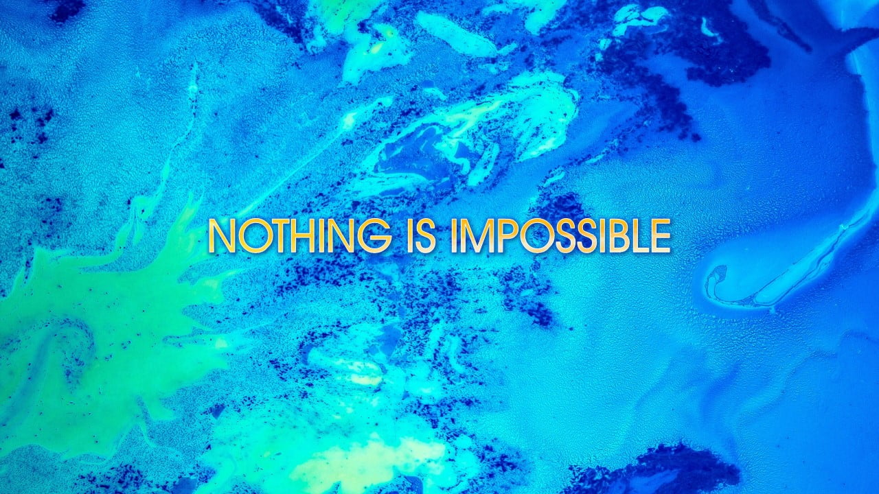 Nothing is Impossible Planetshakers Chords PPTXWorship.com PowerPoint Template presentation PDF Free download Lyrics Worship songs