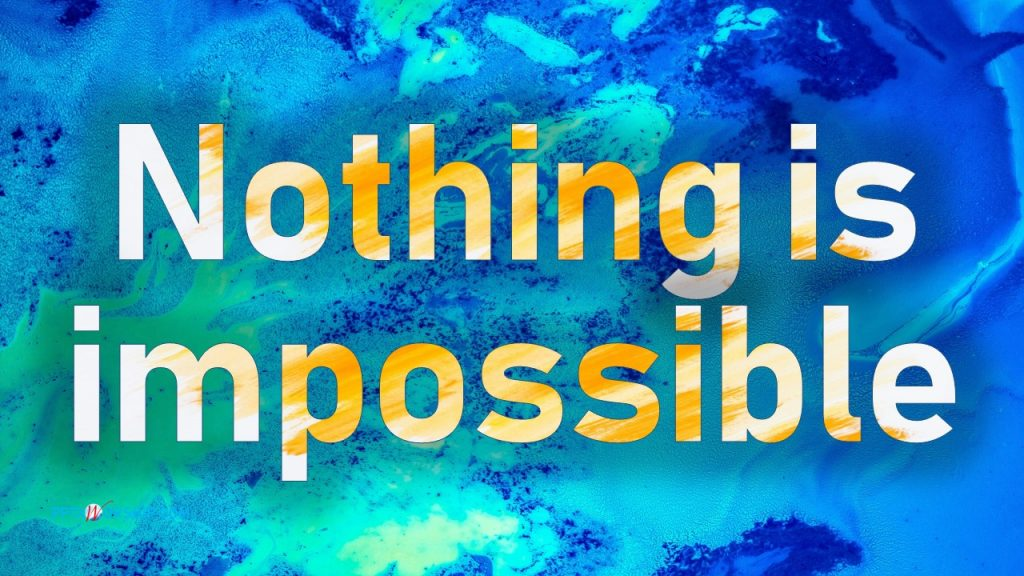 Nothing is Impossible Planetshakers Lyrics PPTX Worship songs Free download PowerPoint Template presentation PPTXWorship.com