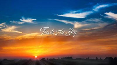 Touch the Sky Hillsong Reviews PPTX Worship PowerPoint Template presentation PDF Free download Lyrics Worship songs PPTXWorship.com