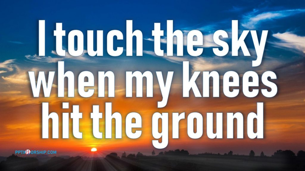 Touch the Sky Hillsong Reviews Free Download PowerPoint Template presentation PPTX Worship