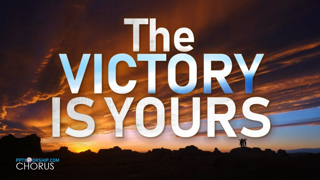 Victory is Yours, Bethel Music Video Free Download PowerPoint Template presentation PPTX Worship