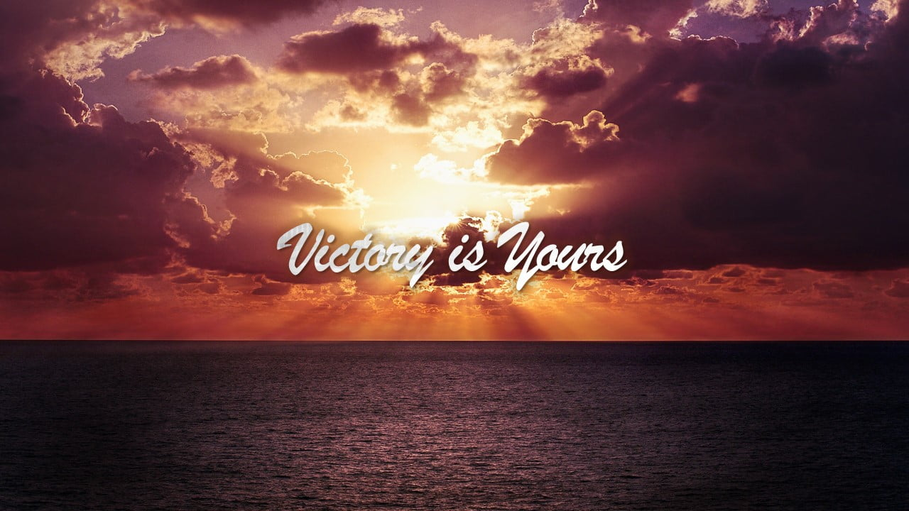 Victory is Yours, Bethel Music Chords PPTXWorship.com PowerPoint Template presentation PDF Free download Lyrics Worship songs