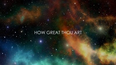 How Great Thou Art Lyrics Worship songs PPTXWorship.com